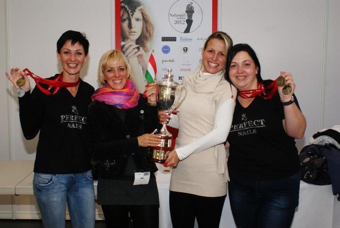 Perfect Nails team wint op Nailympics